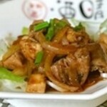 中華風ピリ辛 鶏モツ炒め
