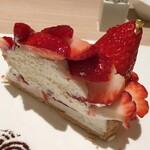 カフェ コムサ - 古都華のケーキのアップ