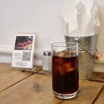 SUNDAY - 【ドリンクセット@150円】アイスコーヒー:淡いです