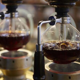 Siphoncoffee(サイフォンコーヒーで丁寧に)