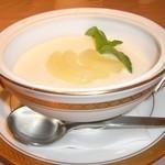 はなわ - 白桃のスープ