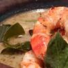 路家 - 料理写真:海老とタイバジルのグリーンカレー