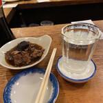 126458527 - お酒(熱いの)、あら煮