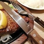 ステーキのあさくま - 割とよく切れるカトラリー