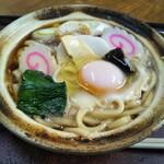 ことぶき - 料理写真:豚なべ焼きうどん 600円(税込)(2020年2月29日撮影)
