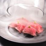 焼肉 嬉野 - 肉寿司マチュピチュ仕立て