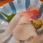 一平 - イカ刺身