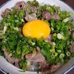あらや食堂 - 料理写真:牛すじ丼 ¥720