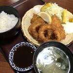和楽久 - 料理写真:いかフライ定食