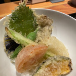 ISOGAMI FRY BAR - 野菜天丼