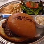12647998 - バーガープレート<限定15食>(\790、2012年4月、2011年4月)