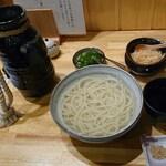 Teuchiudommagokoro - 釜揚げうどん680円