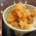 ごまそば遊鶴 - ミニ鶏天丼