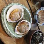囲炉茶屋 - * 大はまぐり焼き 600円