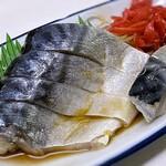 野田屋 - 料理写真:きずし 250円