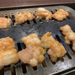 光燁 - 料理写真:ホルモン。かなり秀逸でした。