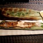 門前酒場山里 - 岩魚塩焼き