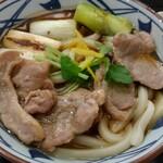 丸亀製麺 - 料理写真:鴨ねぎうどん