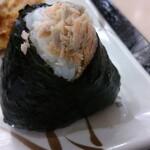 丸亀製麺 - 料理写真:鮭おにぎり