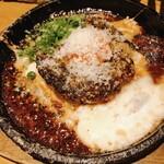 炭焼笑店 陽 - つくね鉄板焼きチーズのせ ¥680