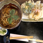 蕎舎 - 天ぷらそば