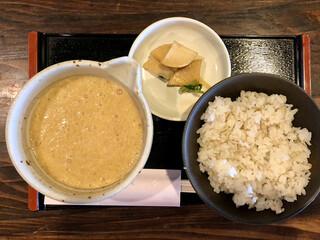 蕎舎 - 麦飯とろろ