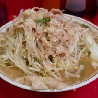 ラーメン二郎 - 料理写真:ラーメン・ニンニクアブラ(750円)
