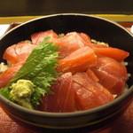 Yanagiyahonten - 鉄火丼。