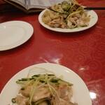 台湾料理 台北 - お通し的な肉