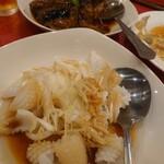 台湾料理 台北 - イカの美味しい何か