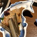 野崎屋 - 鯛のゴマ酢からめ