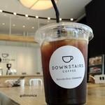 ダウンステアーズコーヒー - アイスコーヒー