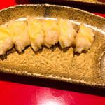 壺水天 - エビチーズ餃子