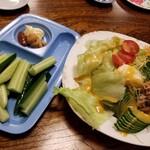 ぴんぽん - ぴんぽんサラダ&もろきゅう