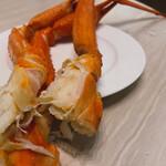 カフェ・ダイニング パームツリー - 北海道フェアの蟹食べ放題。茹でたてホクホクで美味しいのです。