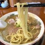 煮干中華 あさり - 肉煮干そば(並)