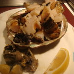 1265342 - アワビの鉄板焼 美味しーーー(><)