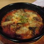 ガスト - チキンとモッツァレラのトマトオーブン焼き439円→クーポンで274円