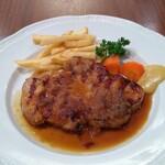 ロイヤルホスト - 国産豚ポークロースステーキ