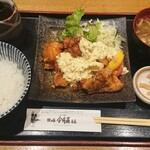 126504633 - 国産鶏もも肉の南蛮揚げ御膳¥1100-