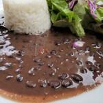 Mojito Terrace Lounge AHINAMA - アロス・コン・フリホーレス(黒インゲン豆のシチュー)