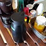 Mojito Terrace Lounge AHINAMA - オレンジジュース・ホットコーヒー・お水
