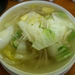 うな瀧 - 料理写真:タンメン