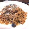 伊太利亜食堂 La・Amati - 料理写真:小海老ときのこのトマトクリームのスパゲティ