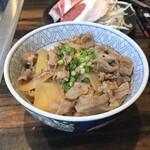 Jingisukankirishima - 霧島連山のラム丼。             美味し。