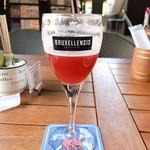 ベルギービール カフェ ベル・オーブ - フローリスフランボワーズ  半分飲んじゃった