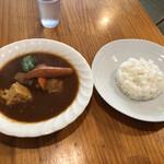 スープカレー カムイ - カマンベールチキンカレー@1,144円