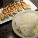126521842 - 餃子セット 餃子+ライス
