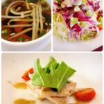 マチ キッチン うめじゃろ - 前菜・サラダ・スープ(ハンバーグランチ)