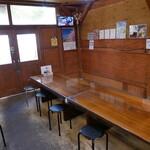 ラーメン長洲 - 厨房と客席は別棟・・・でした(^^;)